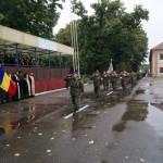 Defilarea batalionului 191 Arad