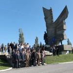 Presedintele Iohannis la Monumentul Detasamentului    Paulis