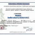 diploma Carstea Adela