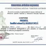 diploma Panciu Ioan
